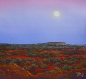 Moon Rise Near Yowah 1